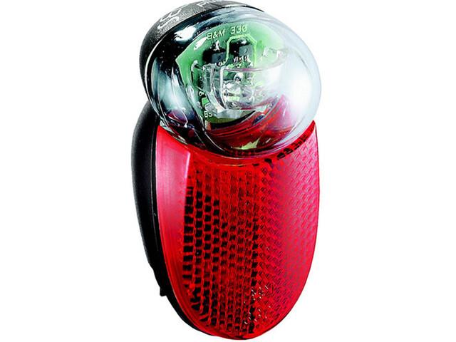Busch + Müller Seculite LED Rear Light black/red